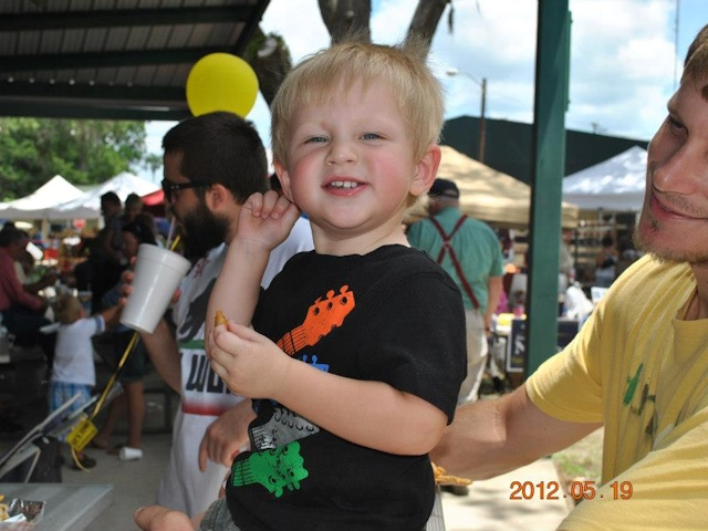 Slideshow photo 3 of 10 from the Tupelo Honey Festival
